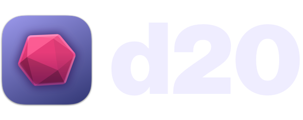 d20 logo/homepage